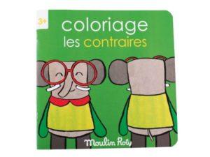 """Cuaderno para Colorear """"Los Contrarios"""""""